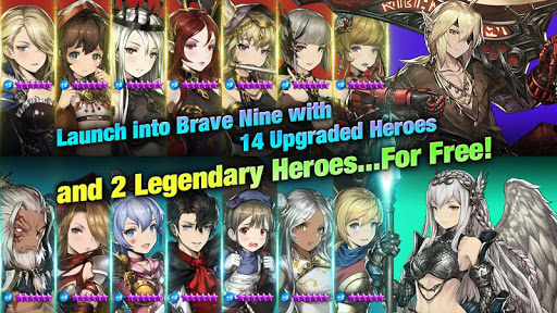 Brave Nine - Tactical RPG 1.59.7 screenshots 9