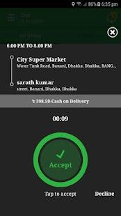 ClapZoo Driver App - náhled