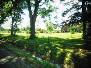 Photo: Day 46 August 3 2013 Brantford ON to Niagara Falls NY Canadian farm land