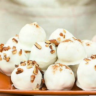 Pumpkin Pecan Truffles