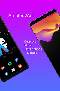 AmoledWalls Pro - Wallpaper Screenshot
