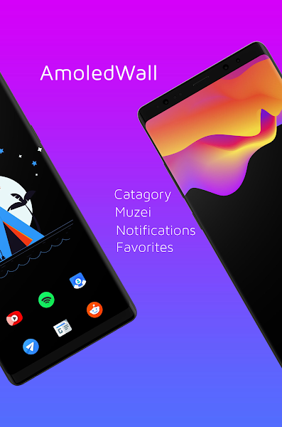 AmoledWalls Pro - Wallpaper Screenshot Image