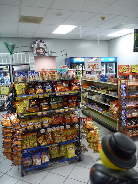 Photo: ...and pick up some snacks.