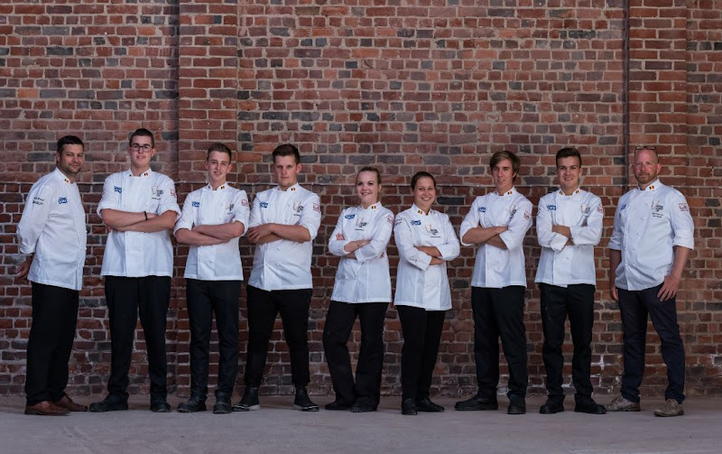 CULINARY WORLDCUP - YOUNG CHEFS TEAM BELGIUM