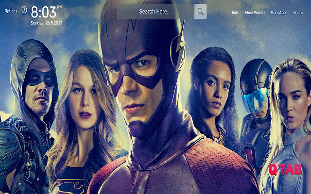 The Flash Wallpapers HD Theme