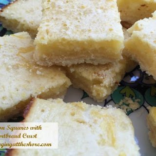 Lemon Squares with Shortbread Crust