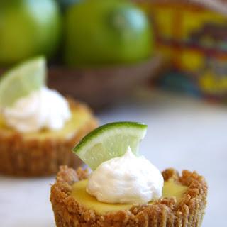 Mini Key Lime Pies with Animal Cracker Crust