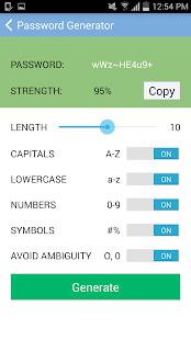 SpeedyPassword screenshot