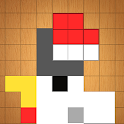 Bit Block Puzzle - Woody and Kawaii Pixel Art icon