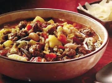 Sweet Italian Sausage and Vegetable Soup