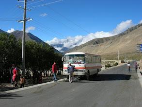 Photo: Along the Nyalam-Tingri road