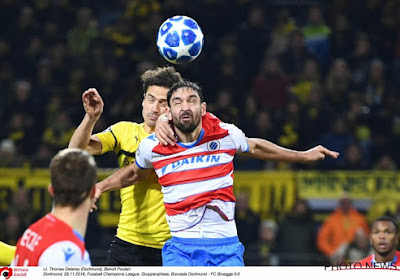 """Welke Gelbe Wand? Club-verdediger: """"Ik heb ze niet gehoord"""""""