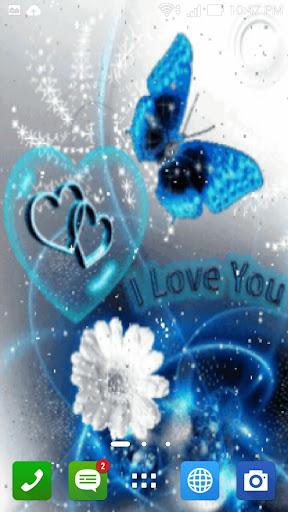 love 3d live wall paper screenshot 2