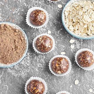 No-Bake Chocolate Peanut Butter Energy Bites.