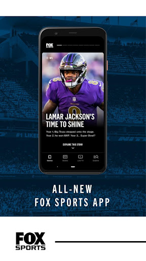 FOX Sports: Latest Stories, Scores & Events screenshots 1