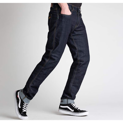 Broger California Jeans (raw navy)