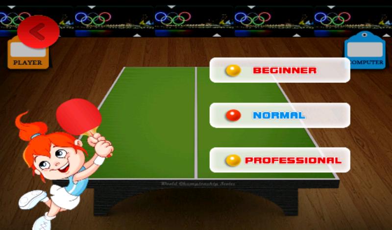 Скриншот Table Tennis Game
