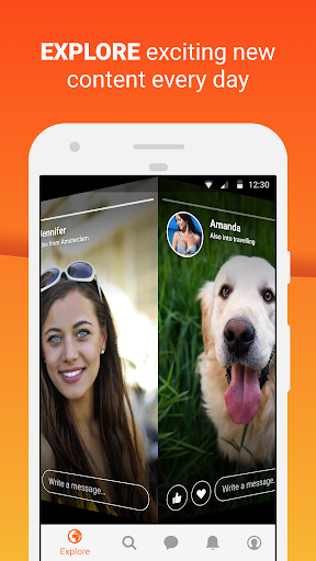 Zorpia - Chat with new people around the world screenshot