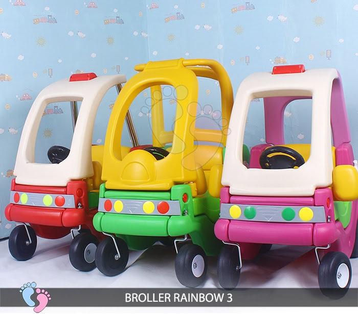 Xe chòi chân Broller Rainbow 3 cho bé 2