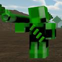 Block Zombie Survival Shooter icon