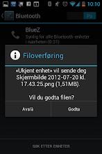 Photo: Bluetooth receive