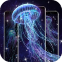 Lucid Jellyfish Live Wallpaper icon