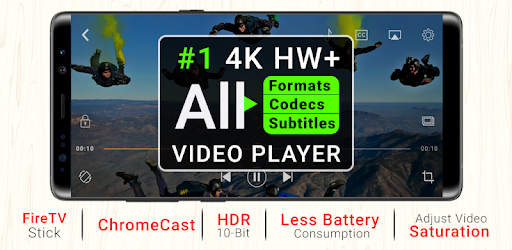 4K Video Player All Format - Cast to TV CnXPlayer - Apps on