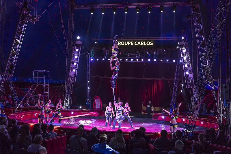 Esibizioni in team circensi di mirella_cozzani