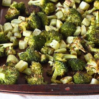 Coconut-Roasted Broccoli