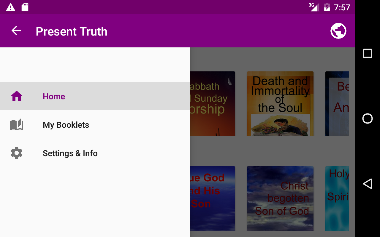 Present Truth- screenshot