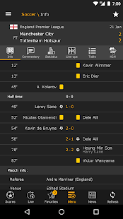 LiveScore for PC-Windows 7,8,10 and Mac apk screenshot 2