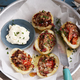 Southwest Stuffed Potato Skins