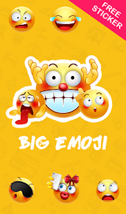 TouchPal Big Emoji Sticker- screenshot thumbnail