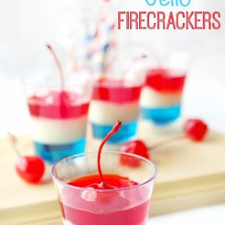 Jello Firecracker Dessert