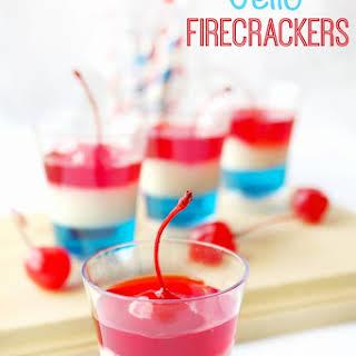 Jello Firecracker Dessert.