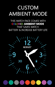 Robust Watch Face screenshot 7