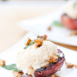 Grilled Peaches With Ice Cream Recipes