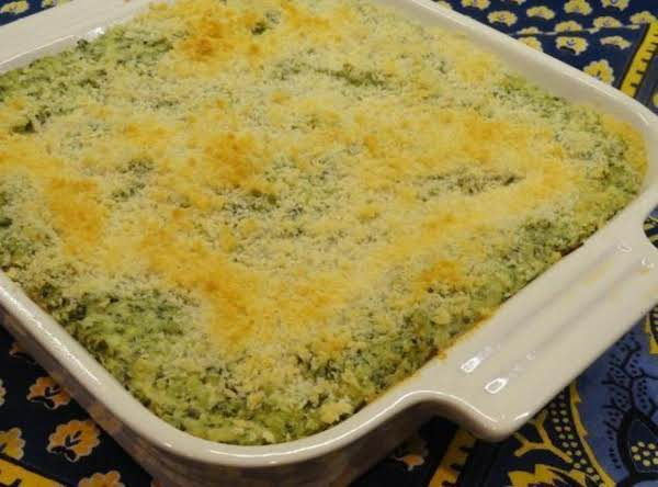 Panko Crusted Spinach And Artichoke Dip