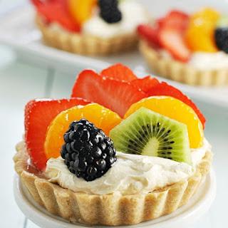 Rainbow Fruit Tartlets.