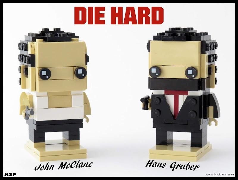 John McClane & Hans Gruber - Die Hard