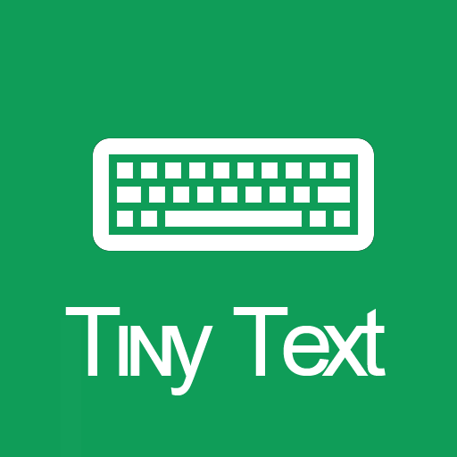 Tiny Text Keyboard app (apk) free download for Android/PC/Windows