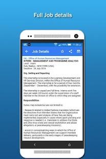 UN Jobs - náhled