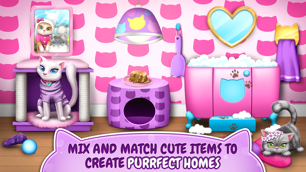 Pet Cat House Decoration Games Android Apps On Google Play