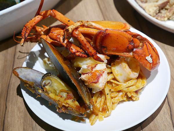 ita義塔|波士頓龍蝦淡菜義大利麵經典開胃菜雙人分享餐錯過再等一年