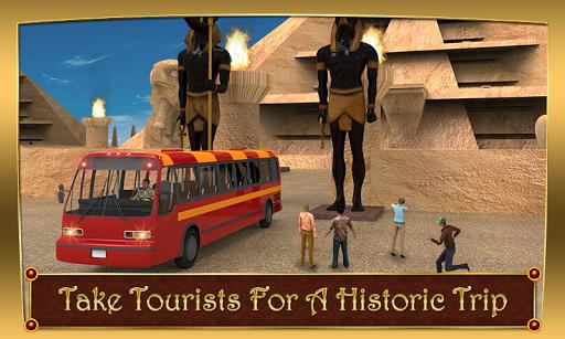 Tourist Bus Historic City