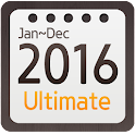 Calendar Widget 2016 Ultimate icon