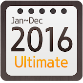 Calendar Widget 2016 Ultimate