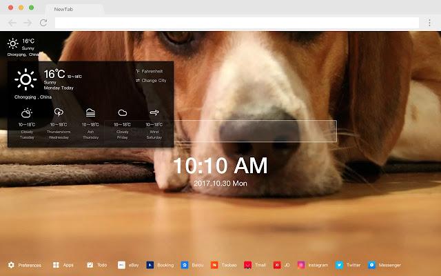 Beagle Pop Pet HD Wallpapers New Tabs Theme