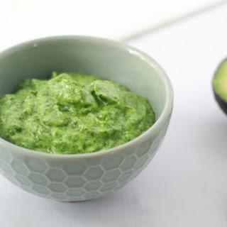 Avocado Cilantro Lime Dressing Recipe