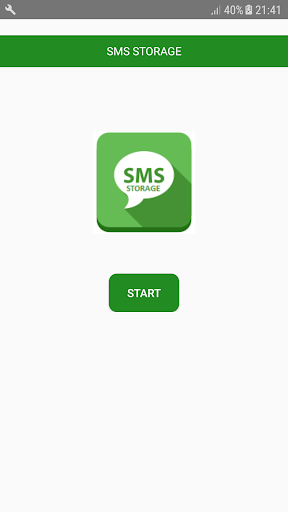 SMS Storage screenshot 1